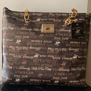 Beverly Hills Polo tote bag